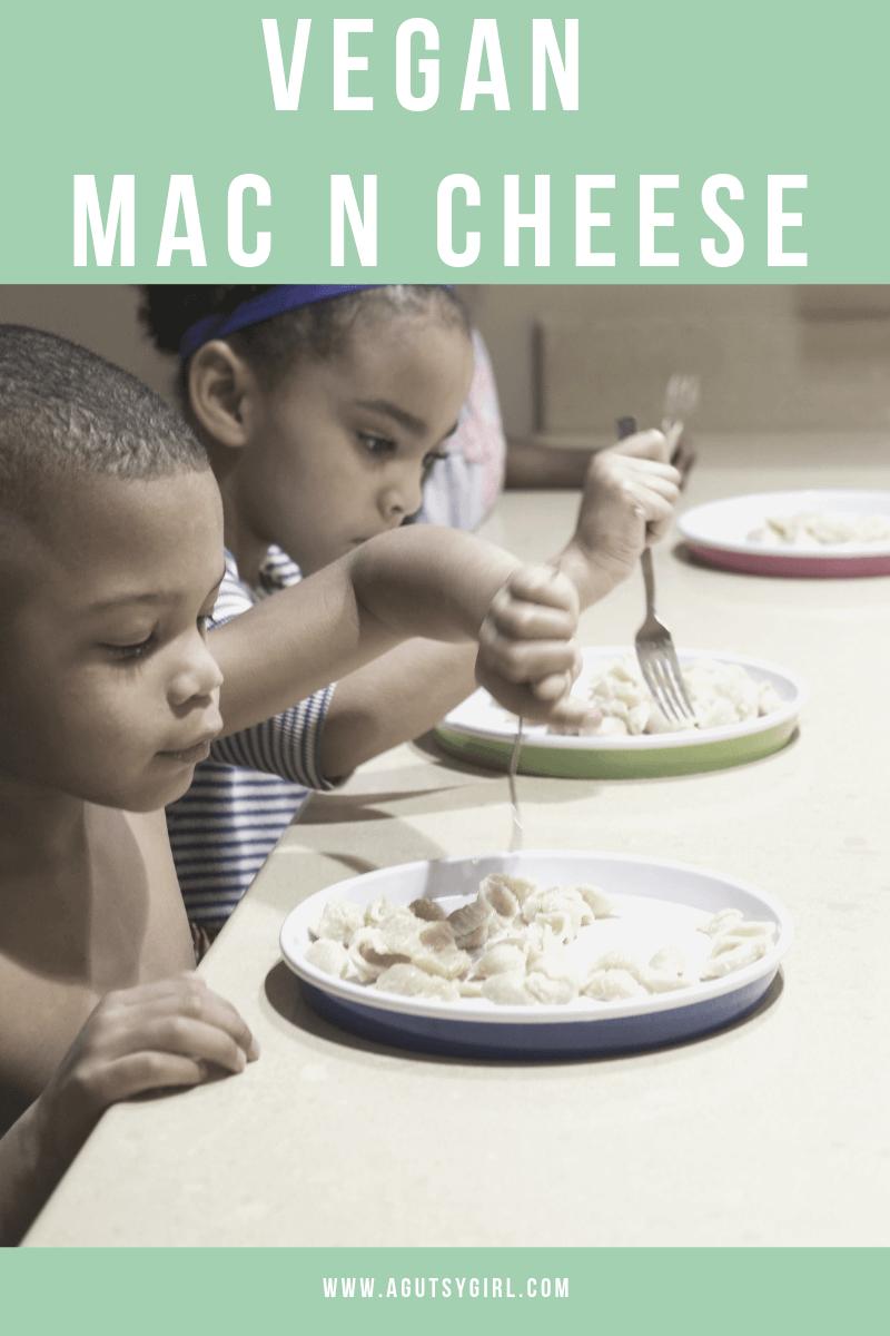 Vegan Mac n Cheese agutsygirl.com #veganrecipes #agutsygirl #glutenfree #dairyfree