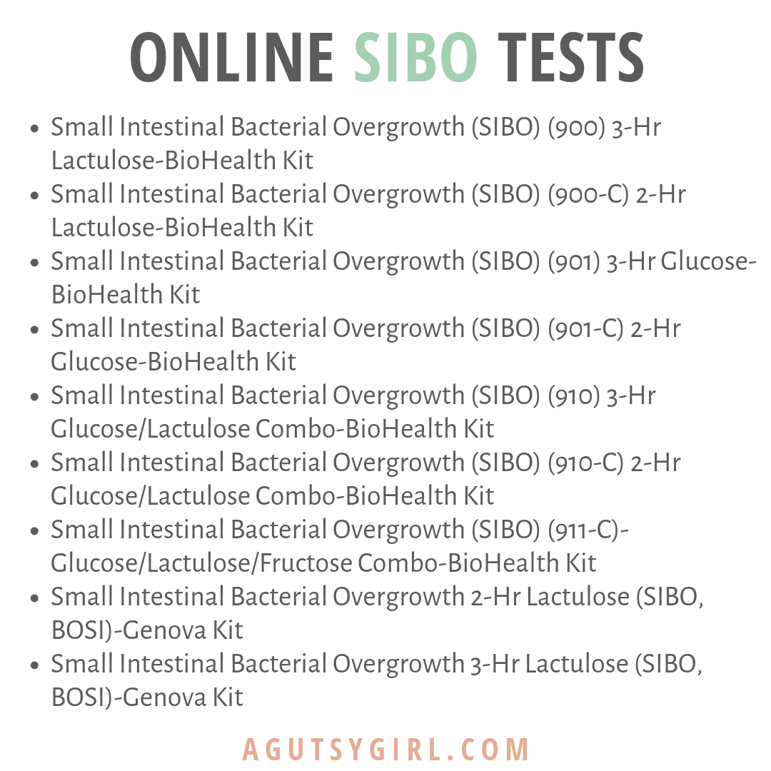 Testing Online SIBO test agutsygirl.com #sibo #guthealth #ibs