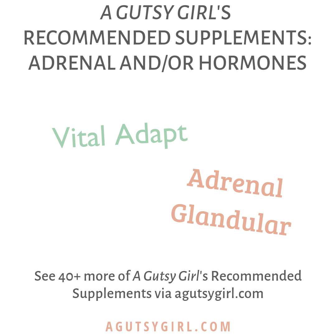 A Gutsy Girl's Recommended Supplements agutsygirl.com supplement #supplement #supplements #guthealth #guthealing #hormones hormone