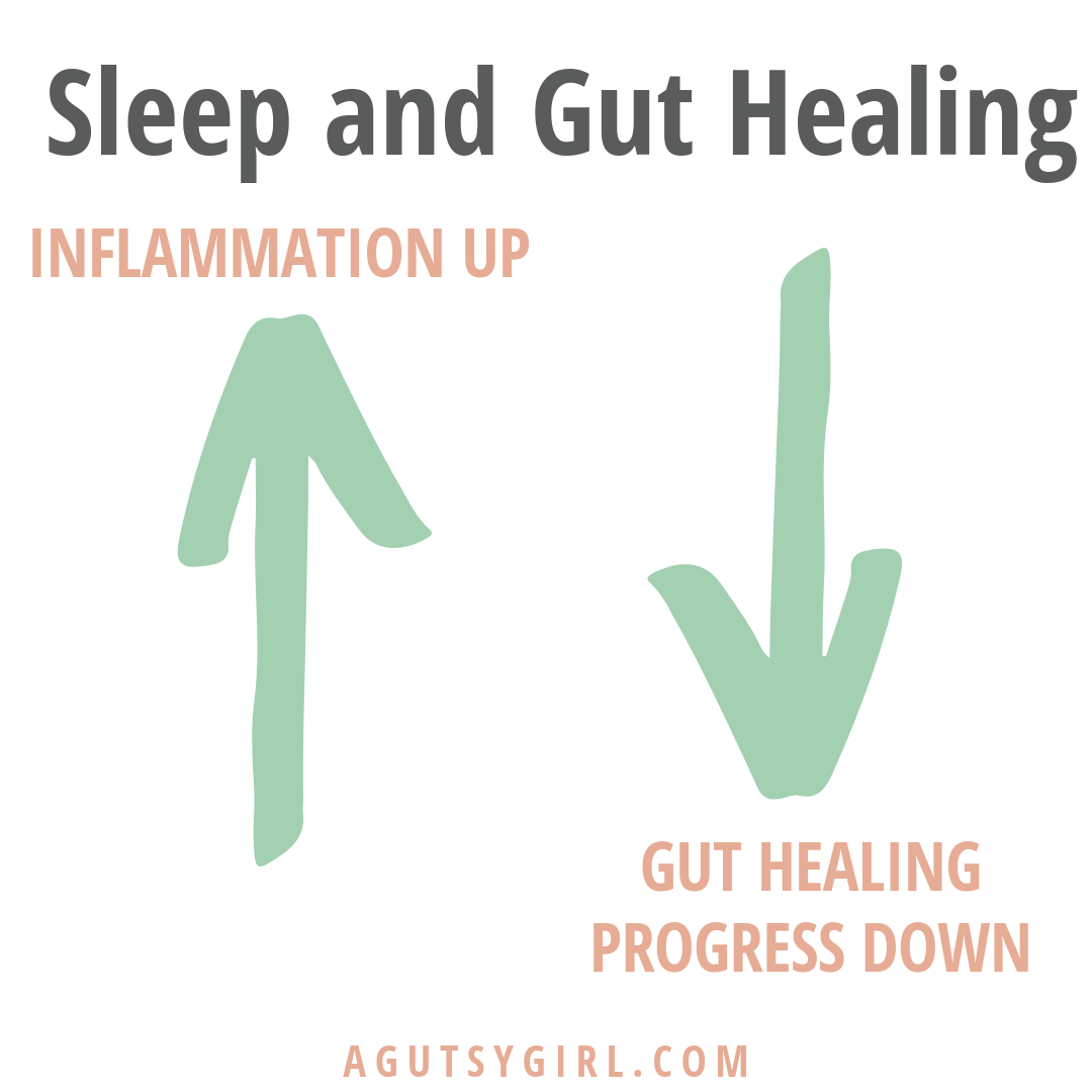 Sleep and Gut Healing agutsygirl.com #healthyliving #guthealth #ibs #sibo