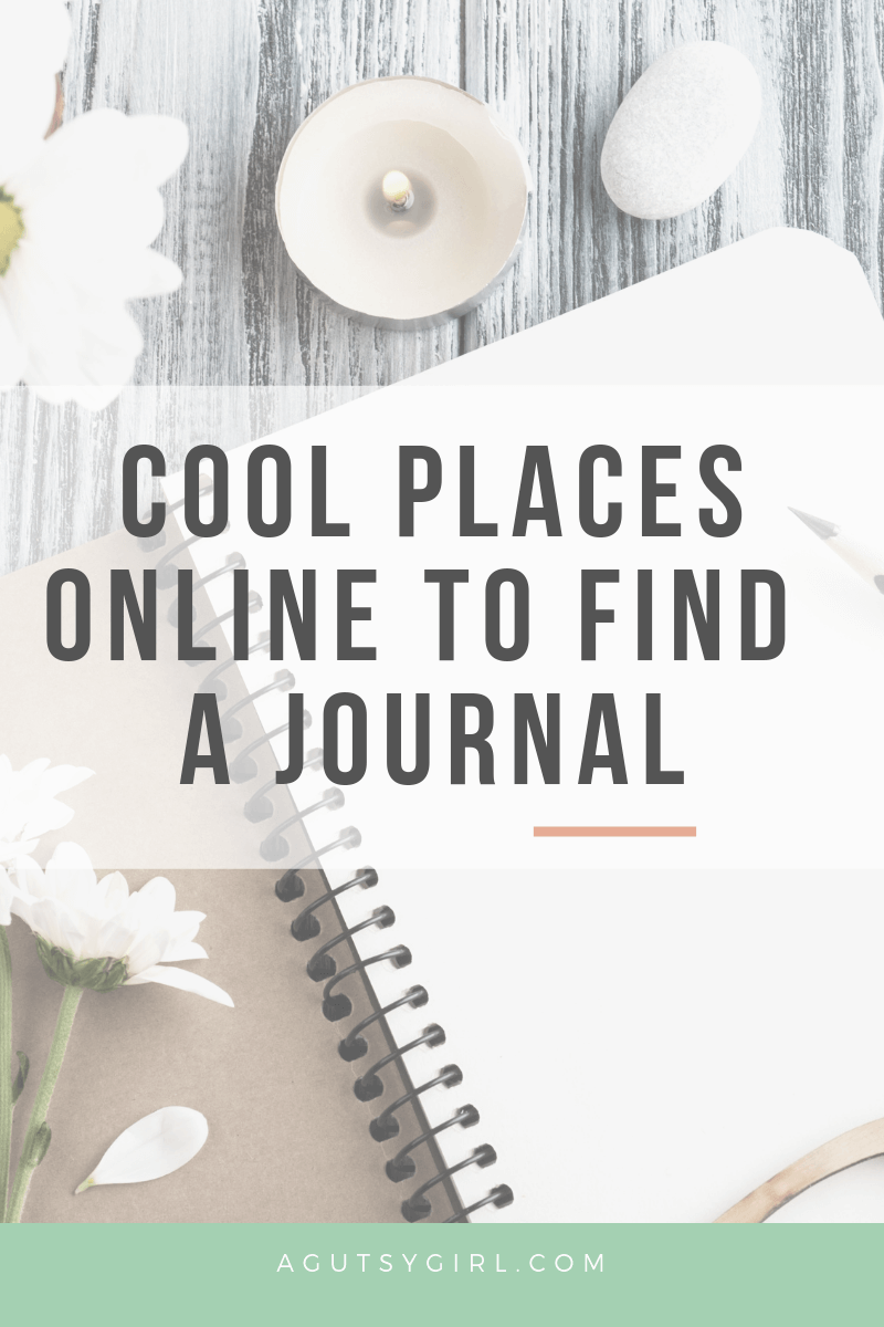 Cool places online Journaling for Gut Healing agutsygirl.com #journal #journaling #guthealth