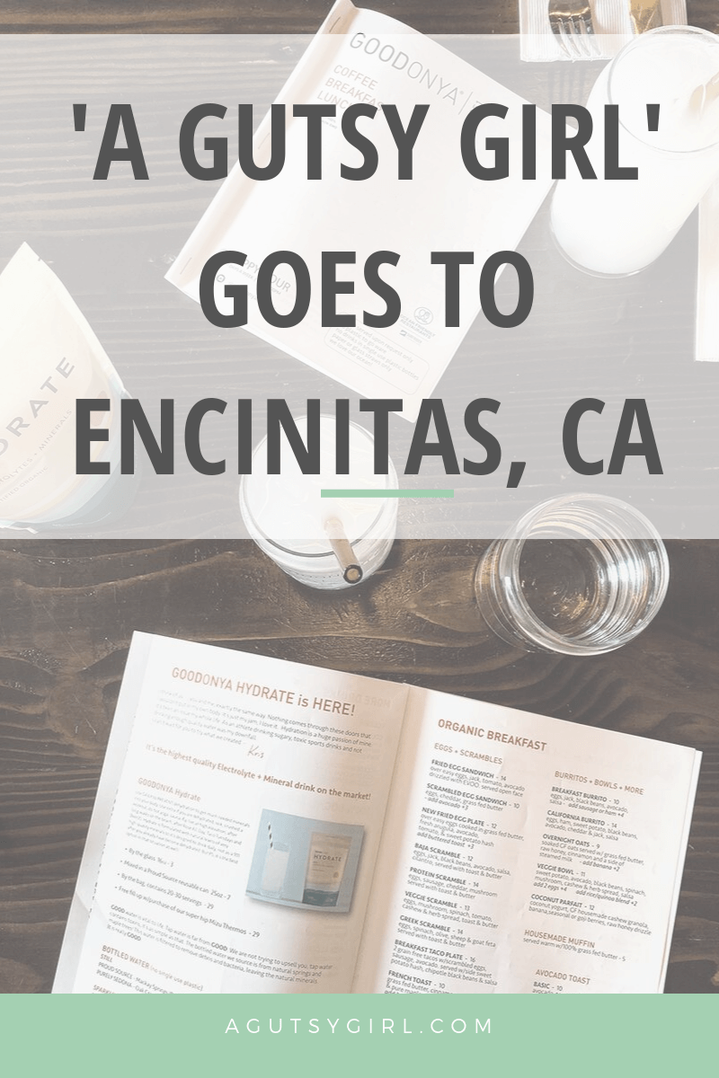 A Gutsy Girl Goes to Encinitas CA agutsygirl.com Goodonya #travel #glutenfree #dairyfree #guthealth