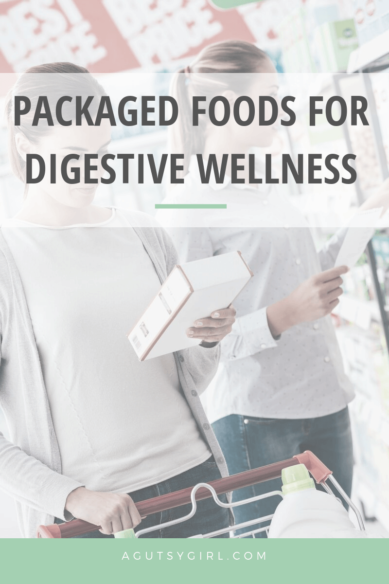 Packaged Foods for Digestive Wellness agutsygirl.com #travel #guthealth #healthyliving