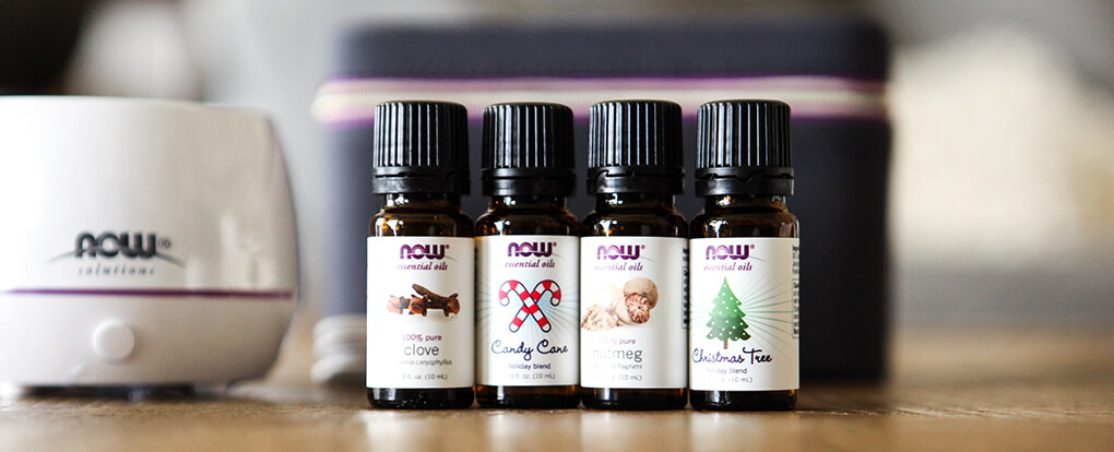 Swapping Out Candles and Wallflowers agutsygirl.com #essentialoils #oils #diffuser #healthyliving #gifts holiday set essential oils NOW Foods
