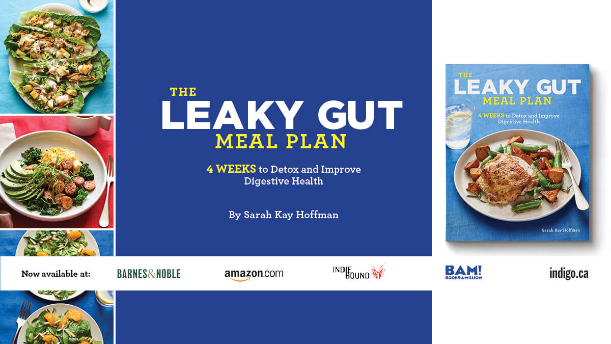 The Leaky Gut Meal Plan agutsygirl.com Facebook business #leakygut #guthealth #leakygutdiet #book