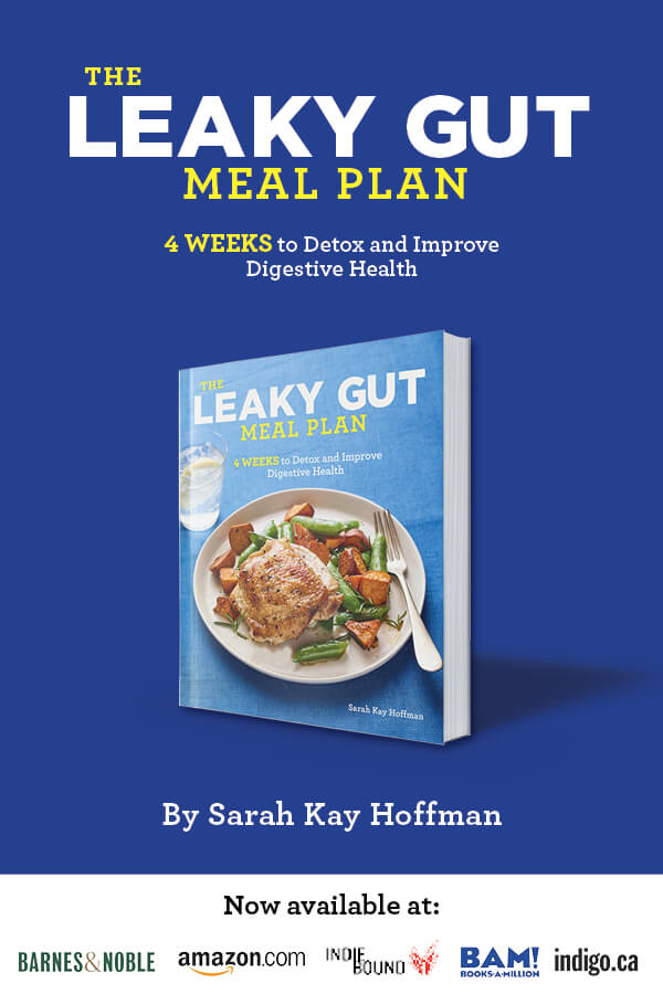 The Leaky Gut Meal Plan agutsygirl.com Pinterest #leakygut #guthealth #leakygutdiet #book