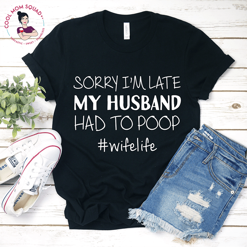 A Gutsy Girl Holiday 2019 Gut Wish List Husband Had to Poop - Black Mockup Etsy agutsygirl.com #guthealth #holidaygifts #etsy
