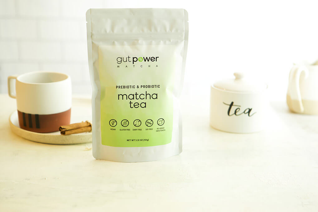 A Gutsy Girl Holiday 2019 Gut Wish List agutsygirl.com #guthealth #holidaygifts #supplement Matcha Tea