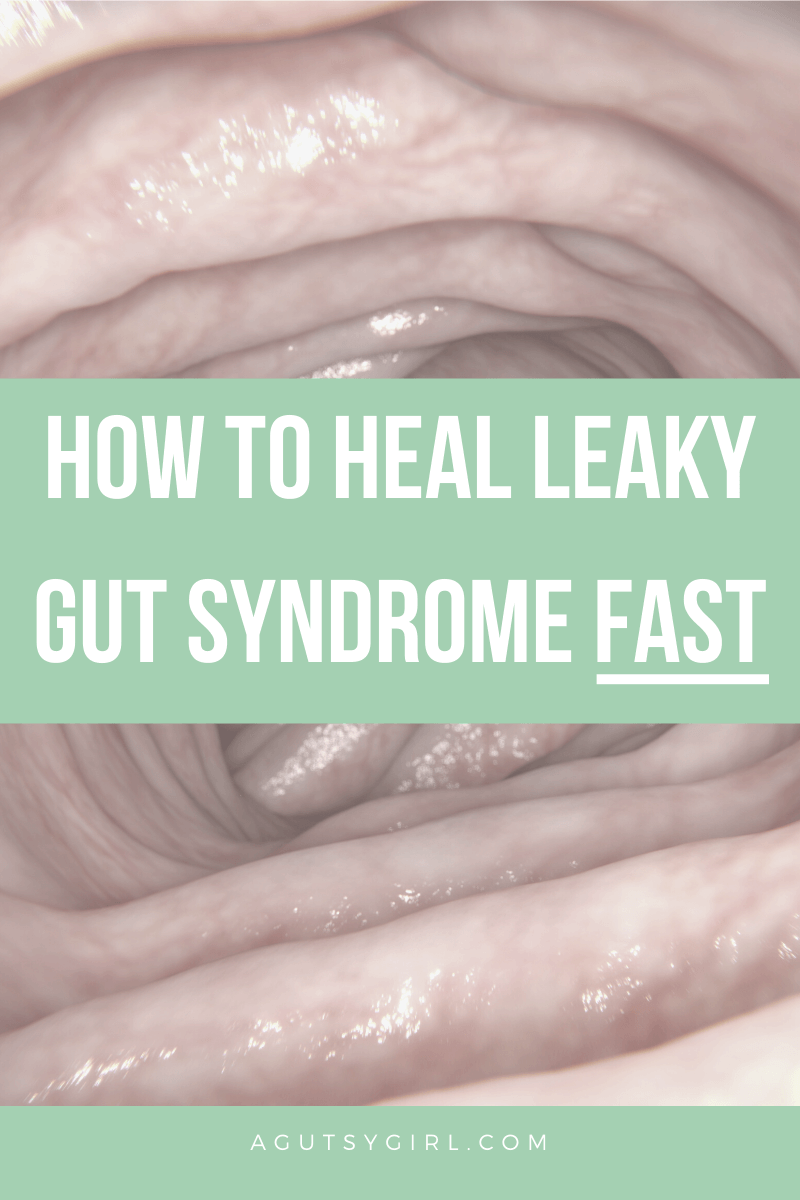 How to Heal Leaky Gut Syndrome Fast agutsygirl.com #guthealth #leakygut #leakygutsyndrome #ibs