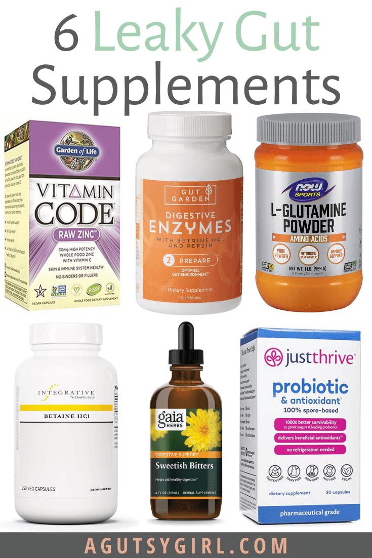 Leaky Gut Supplements supplement caution agutsygirl.com #leakygut #supplements #probiotic