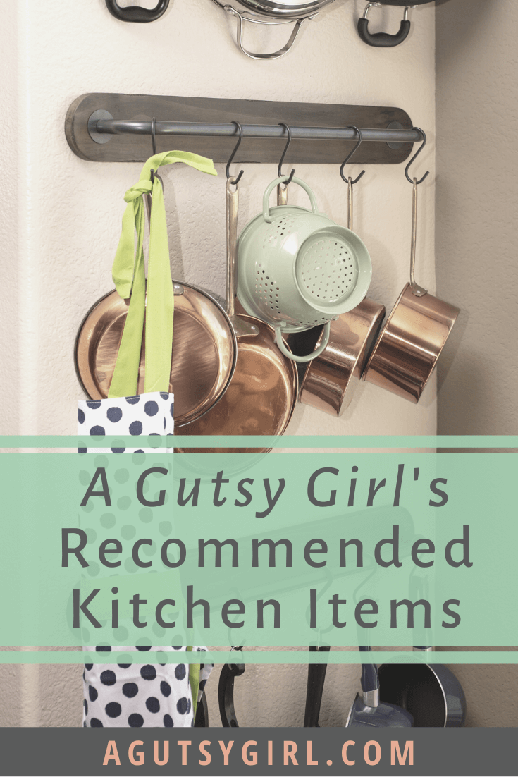 Recommended Kitchen Items agutsygirl.com #kitchen #healthyliving #guthealth