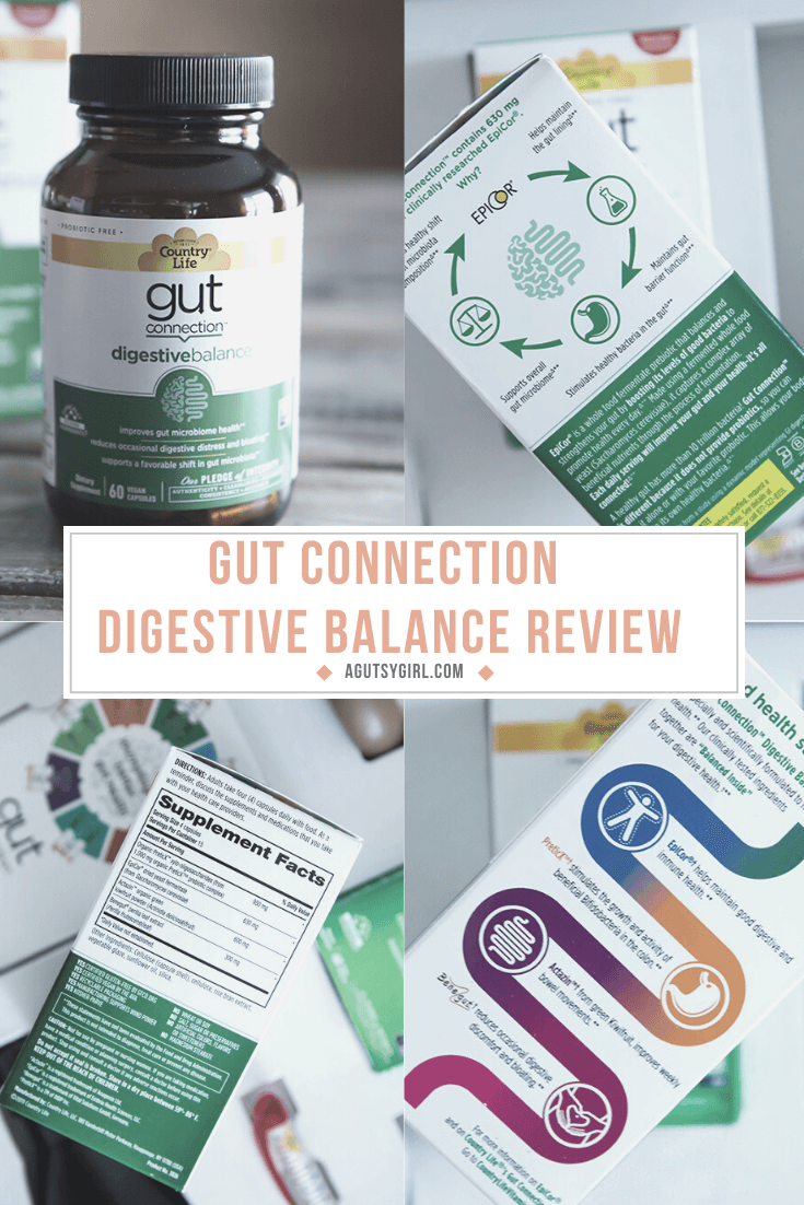 Gut Connection Digestive Balance Review agutsygirl.com #guthealth #digestion