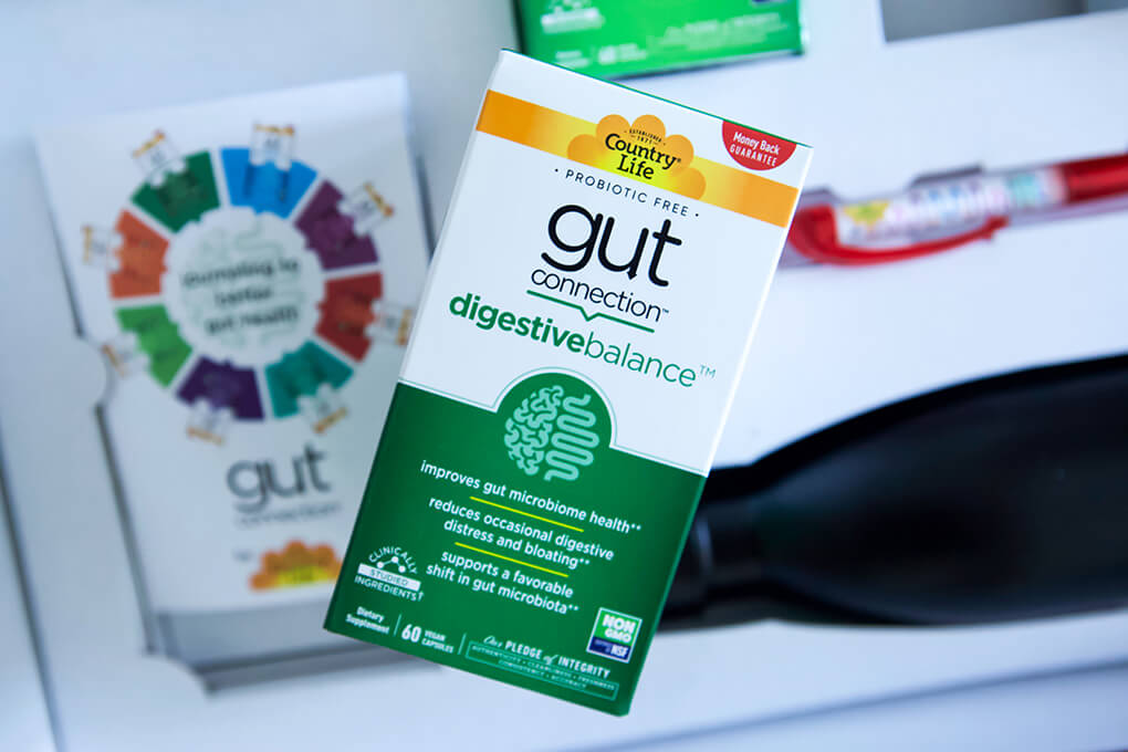 Gut Connection Digestive Balance Review agutsygirl.com supplements gut health #guthealth #digestion #supplement