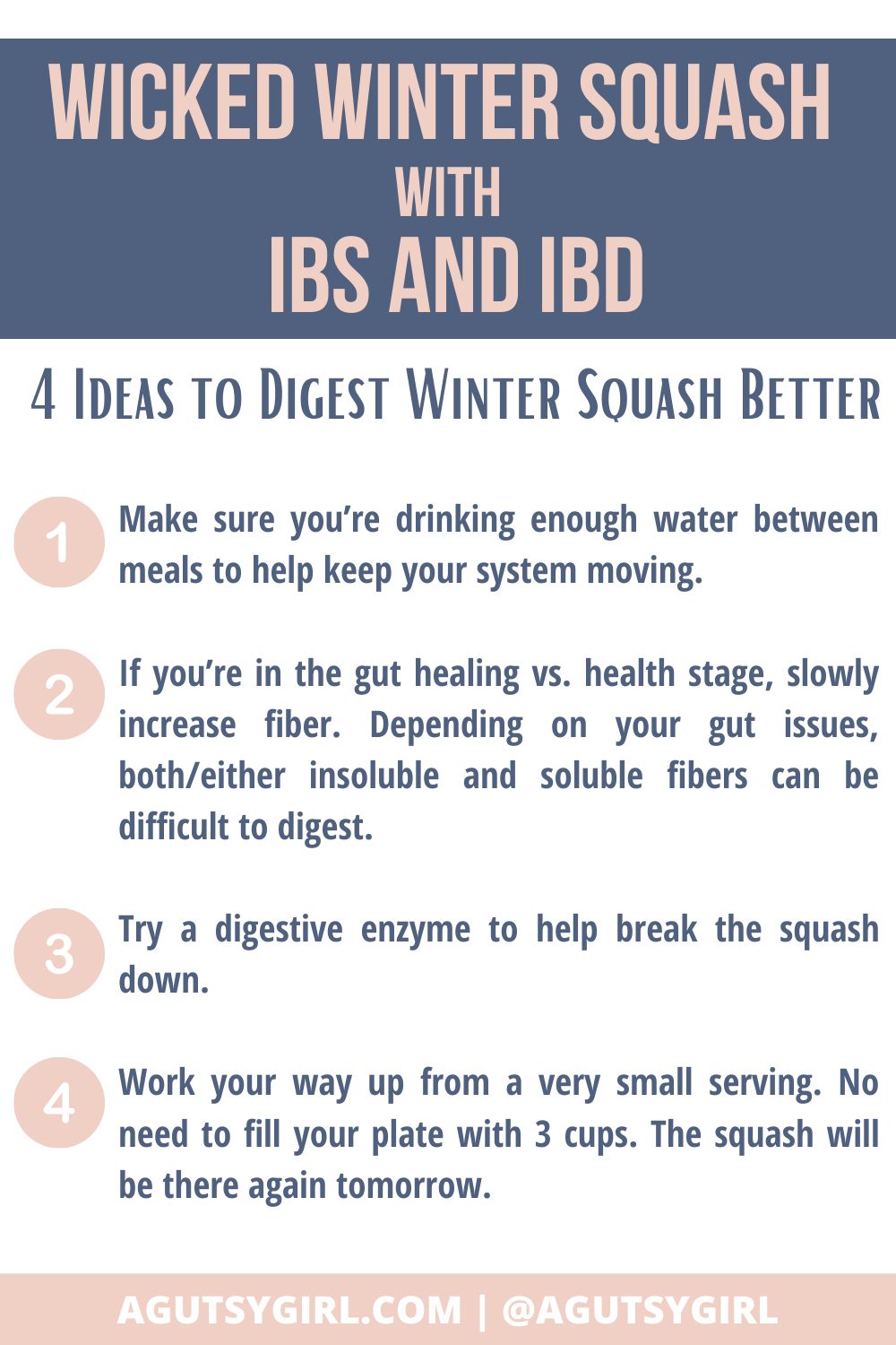 Wicked Winter Squash with IBS and IBD agutsygirl.com #wintersquash #ibs #ibd #guthealth