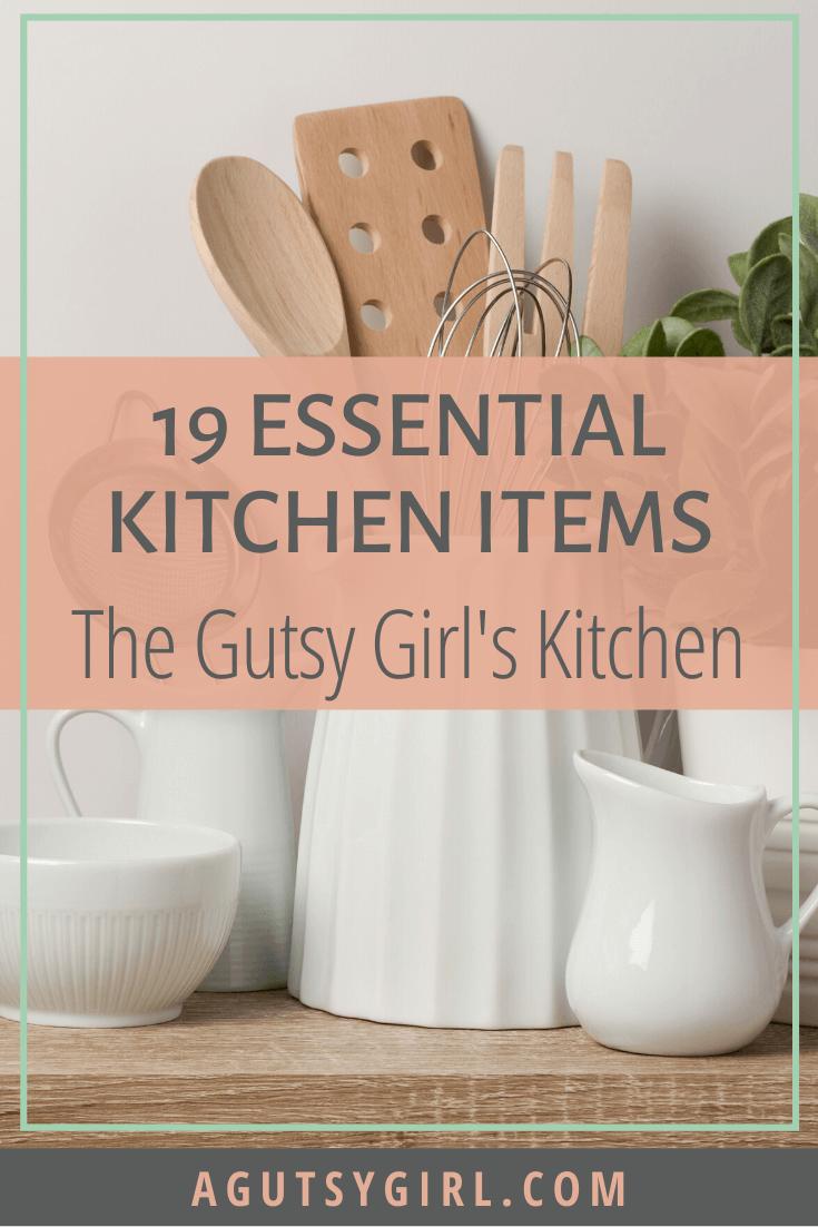 19 Essential Kitchen Items agutsygirl.com #instantpot #healthyliving #guthealth