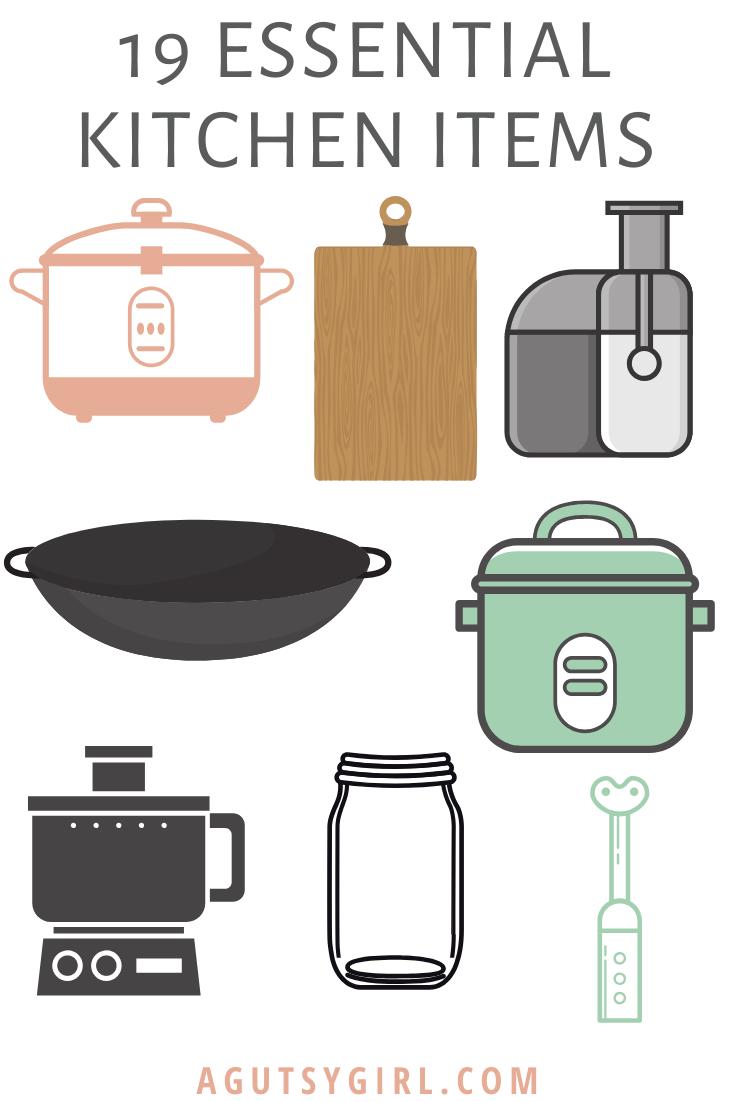 19 Essential Kitchen Items agutsygirl.com #instantpot #healthyliving