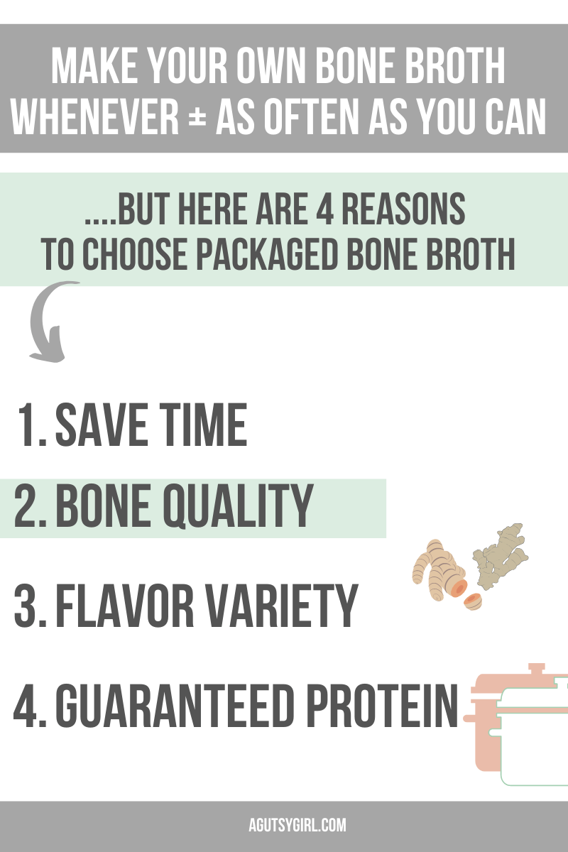 4 Reasons What is the Best Packaged Bone Broth agutsygirl.com #bonebroth #broth #guthealth