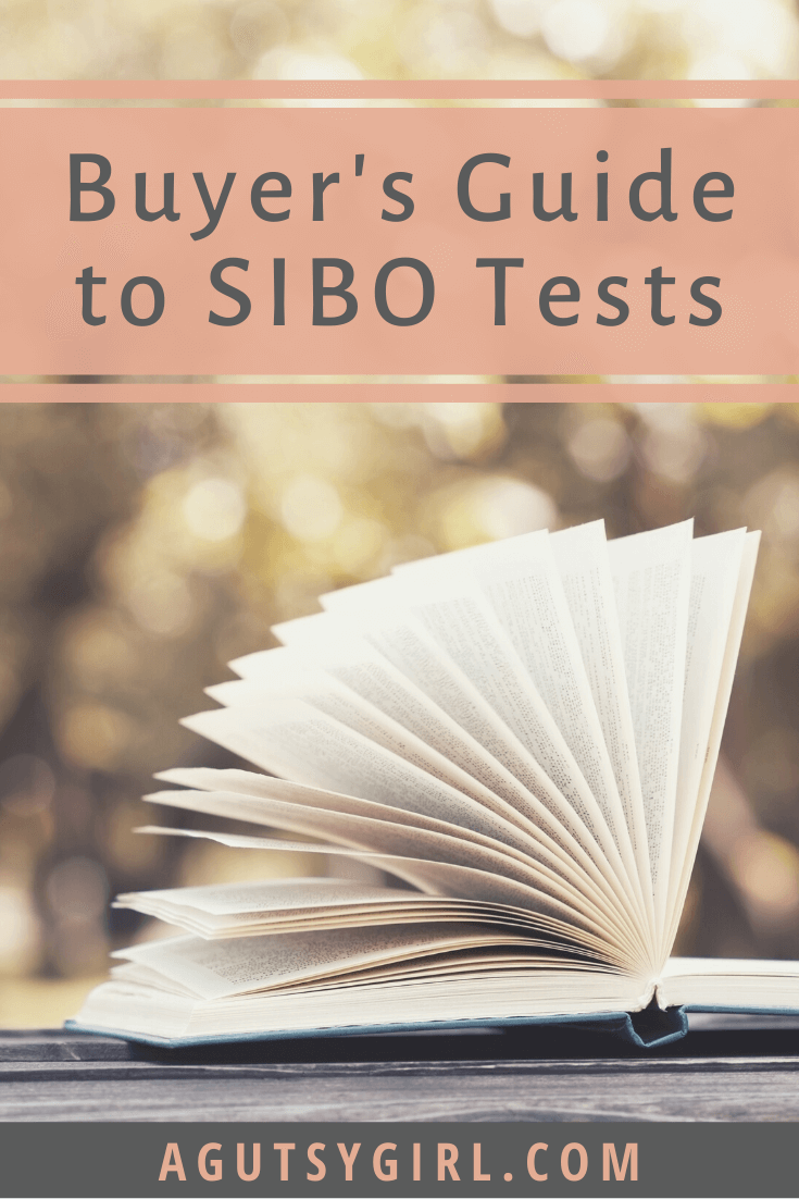 Buyer's Guide to SIBO Tests agutsygirl.com #sibo #fodmap #guthealth