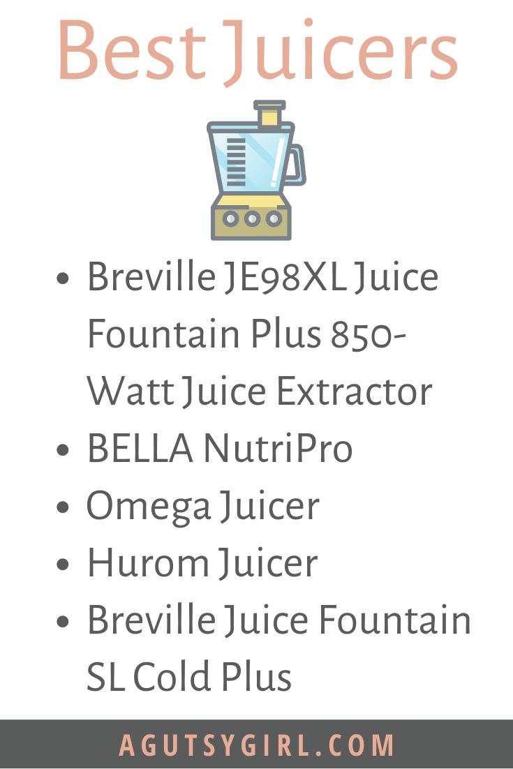 Best Juicers Juicing for Gut Healing agutsygirl.com #juicing #celeryjuice #juicer