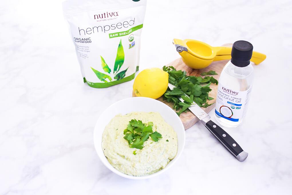 Hemp Hummus agutsygirl.com #glutenfree #hummus #hemp #dairyfree dairy free