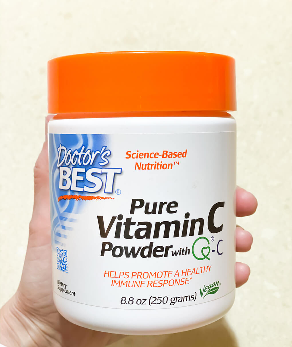Vitamin C for Gut Healing agutsygirl.com #vitaminc #vitamins #guthealth Doctor's Best supplement