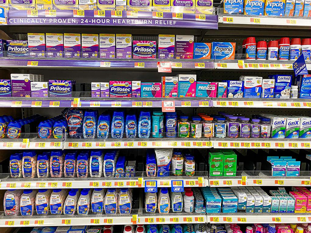 Walmart Edition Gutsy Finds agutsygirl.com #digestivehealth #walmart #walmartfinds digestion digestive