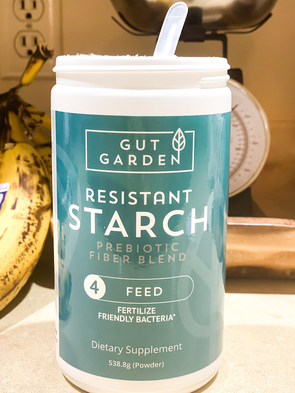 All About Prebiotics agutsygirl.com Gut Garden Resistant Starch Prebiotic #resistantstarch #prebiotic