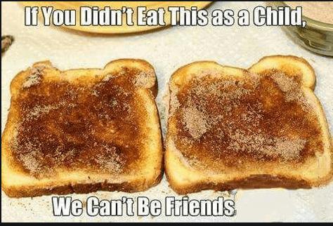Cinnamon Sugar Toast Trend agutsygirl.com #cinnamon #monkfruit