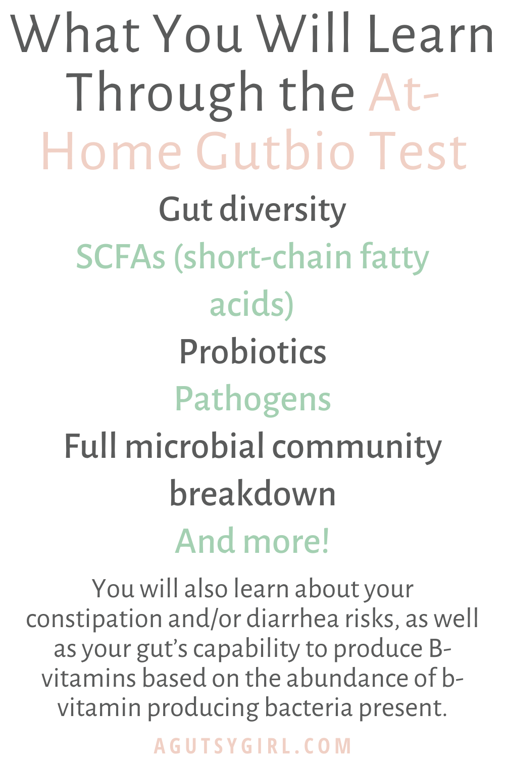 Intro to Microbiome Testing with Onegevity agutsygirl.com #guthealth #gut #healthyliving who is gutbio for #microbiome