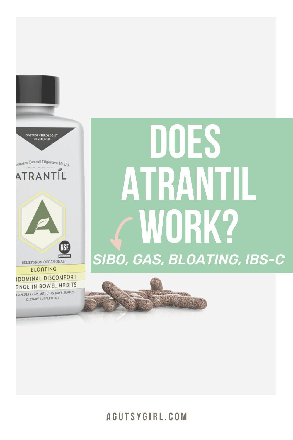 Does Atrantil Work agutsygirl.com #guthealth #ibs #sibo #supplements supplement