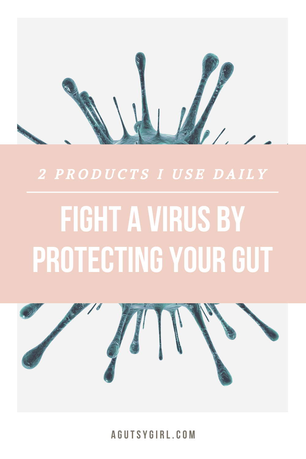 Fight a Virus by Protecting Your Gut agutsygirl.com #guthealth #immunesystem #healthyliving