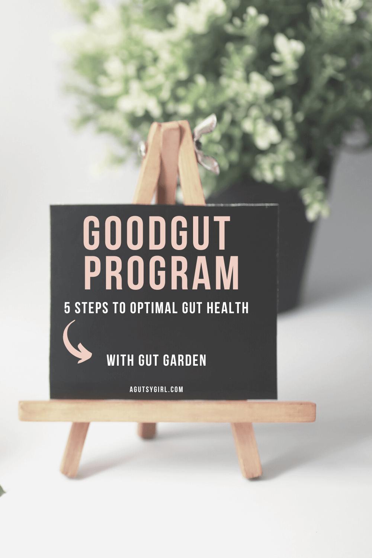 Gut Garden GoodGut Program agutsygirl.com #guthealing #guthealth #supplements 5-steps supplements