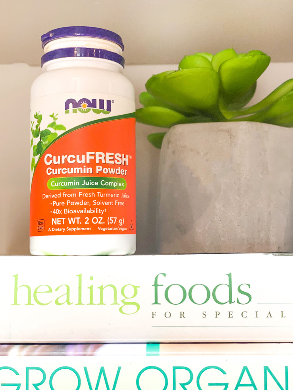Immune Boosting Gut Health Support agutsygirl.com #guthealth #immuneboost #turmeric Curcumin NOW Foods
