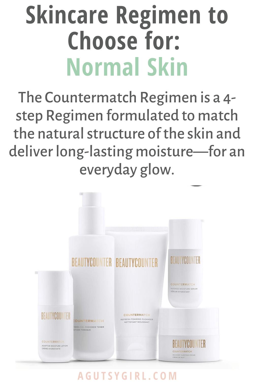 Which Skincare Regimen to Choose agutsygirl.com #skin #naturalskincare #skincareroutine Countermatch
