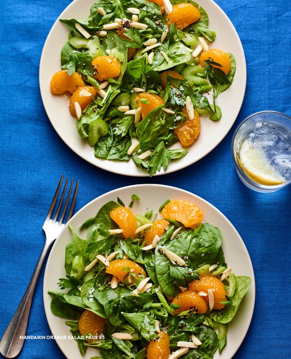 Mandarin Orange Salad agutsygirl.com #glutenfree #dairyfree #leakygutdiet #guthealth