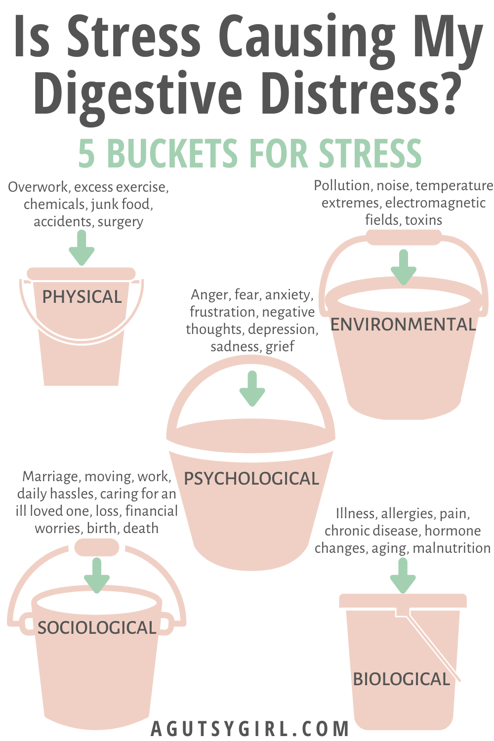 Is Stress Causing My Digestive Distress agutsygirl.com #guthealth #digestion #stress what is stress