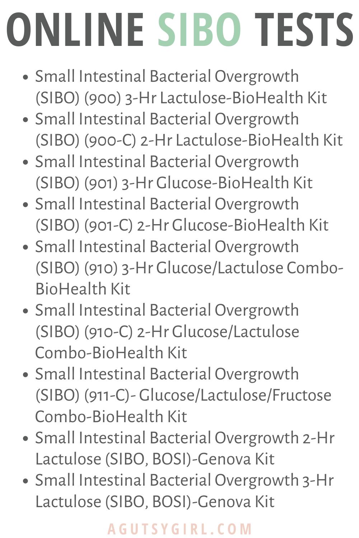 Online SIBO Testing agutsygirl.com #guthealth #SIBO