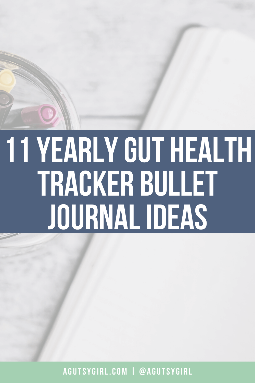 11 Yearly Gut Health Tracker Bullet Journal Ideas agutsygirl.com #guthealth #bulletjournal #bujo #eliminationdiet