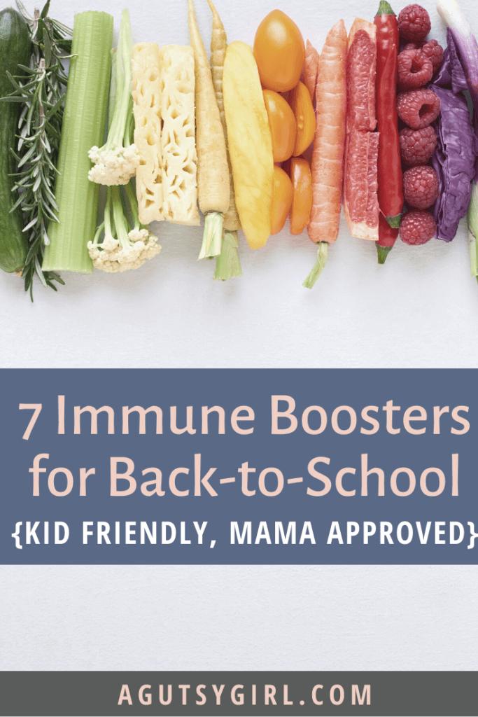 7 Immune Boosters for Back-to-School agutsygirl.com #immuneboost #backtoschool #immunesystem