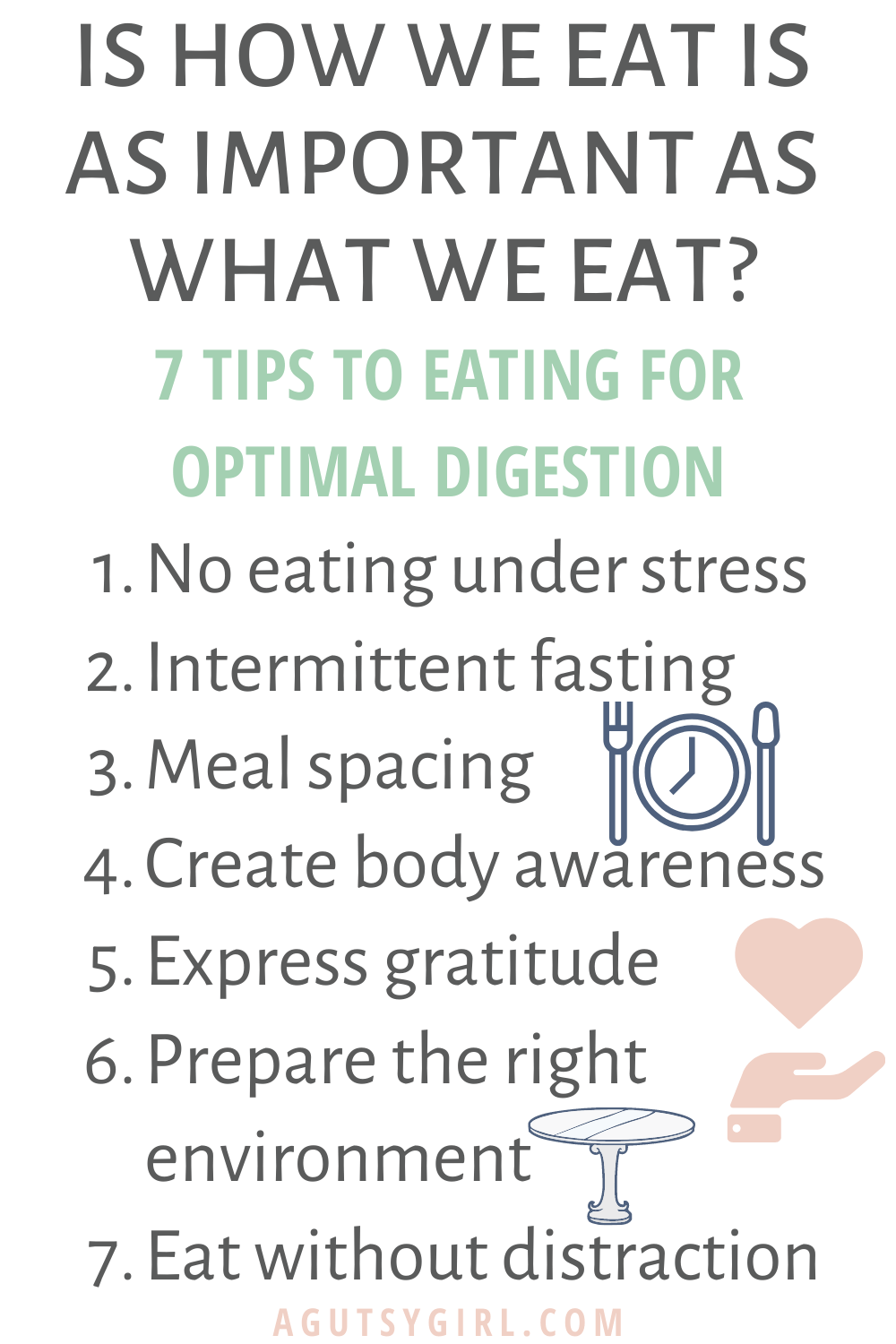 Is How We Eat as Important as What We Eat No More Fight or Flight Digestion agutsygirl.com #fightorflight #guthealth #stressedout
