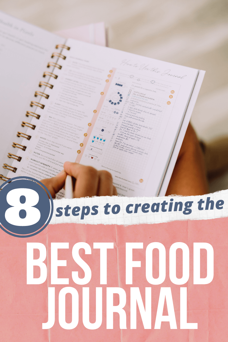 8 Steps to Creating the Best Food Journal agutsygirl.com #guthealing #foodjournal #journaling
