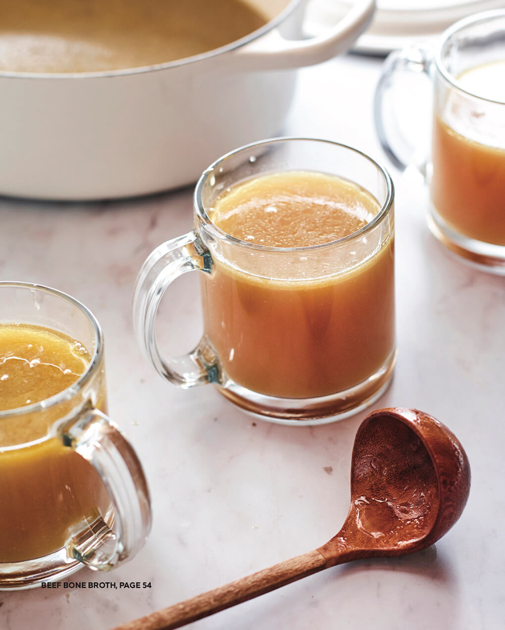 Beef Bone Broth Recipe for Leaky Gut agutsygirl.com #bonebroth #broth #leakygut #guthealth