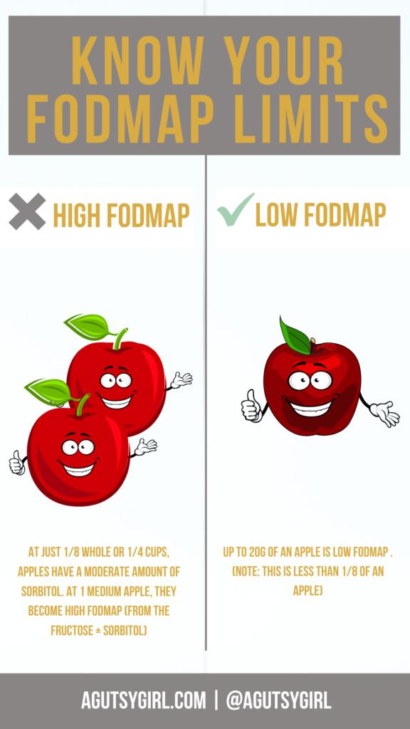 Bare Apple Chips {copycat} agutsygirl.com #applechips #apples #driedfruit FODMAP