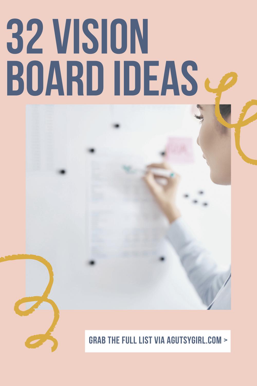 32 Vision Board Ideas mini agutsygirl.com #visionboard #visionboardideas #healthgoals #guthealth
