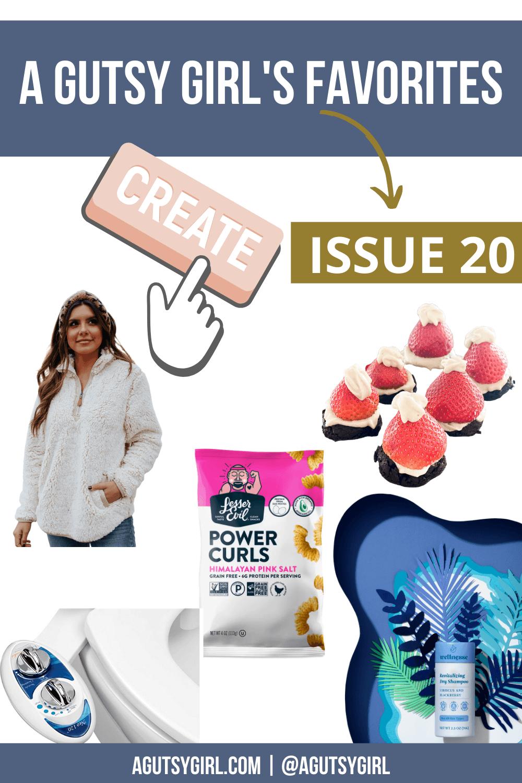 A Gutsy Girl's Favorites Issue 20 agutsygirl.com #dryshampoo #glutenfreerecipes #bidet