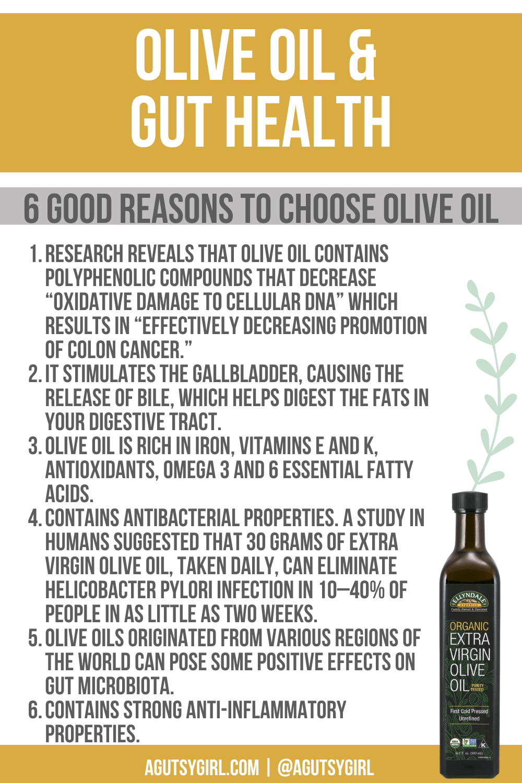 DIY Herb-Infused Olive Oil 6 Good reasons to choose olive oil agutsygirl.com #herbinfusedoliveoil #oliveoil #diy #guthealth