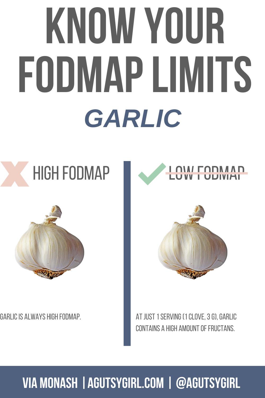 Reasonable SIBO garlic FODMAP agutsygirl.com #garlic #fodmap #SIBO