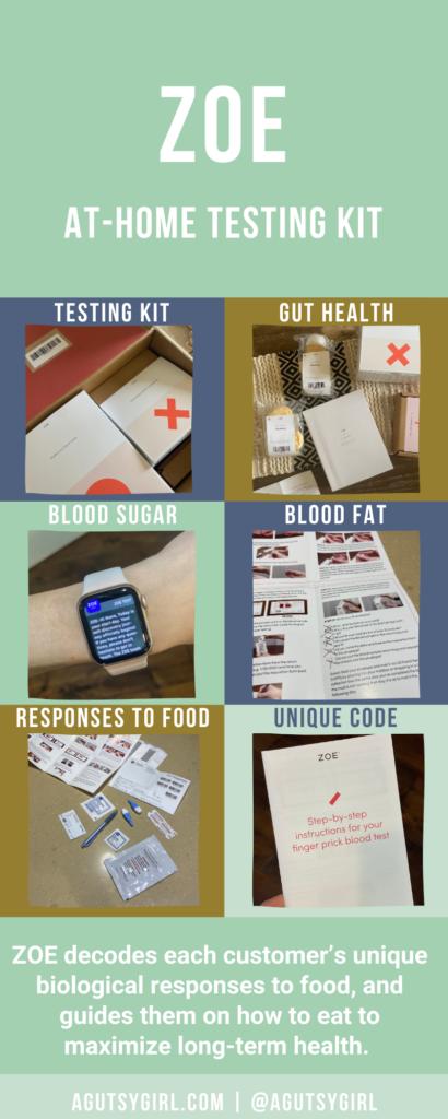 How ZOE Works agutsygirl.com #zoe #healthtest #guthealth