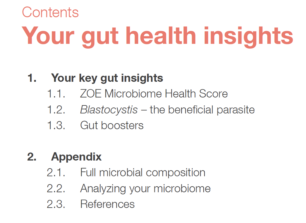 ZOE gut health insights for A Gutsy Girl agutsygirl.com #guthealth #microbiome #zoe