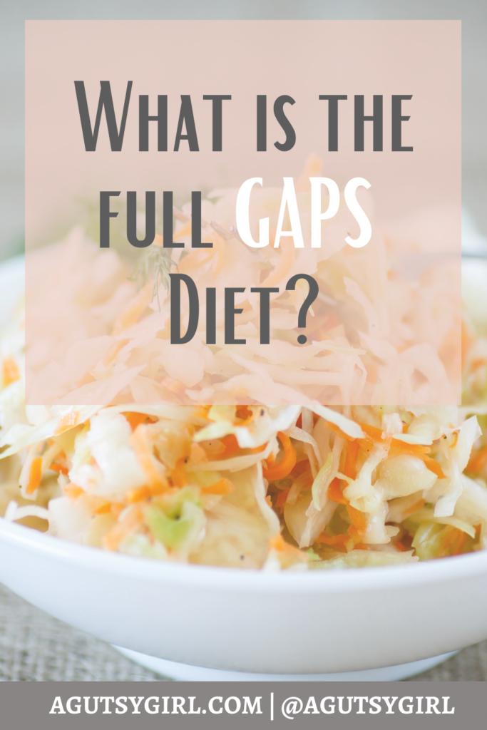 What is the Full GAPS Diet agutsygirl.com #gaps #gapsdiet #gut